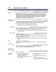 Resume Examples Of Experience ResumeExamples