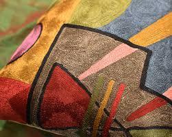 Decorative Lumbar Throw Pillows by Lumbar Kandinsky Soul Flood Decorative Pillow Cover Silk Hand