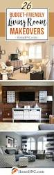 Living Room Makeovers Before And After Pictures by 26 Best Budget Friendly Living Room Makeover Ideas For 2017