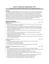 Cpa Resume Examples Accountant Chrono Sample 2016