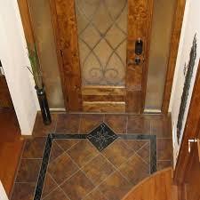 handmade custom entryway grand foyer floor tile medallion and