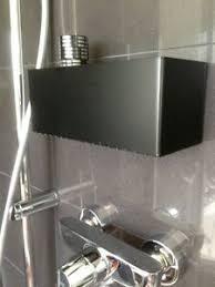 details zu shoo dusch bad regal korb ablage bad accessoir metall loft bauhaus design