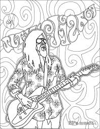 Free Coloring Pages Books Adult Musical Instruments Musicals Stress Colour Book Music