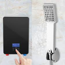 details about 220v touch display 6 6kw badezimmer elektronischer durchlauferhitzer dusche