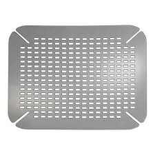 amazon com interdesign contour kitchen sink protector mat