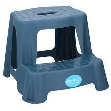 kinder tritthocker zwei stufenhocker wc bad badhocker kinderhocker trittstufe rutschfest dunkelblau