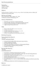 18 Best Of Hotel Housekeeping Resume Sample Shots Rh Telferscotresources Com House Cleaner Assistant Head