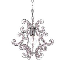 Small Chandelier For Bedroom by Mini Chandeliers Hanging Lights The Home Depot