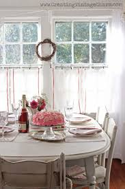 Shabby Chic Dining Room Chair Cushions by 439 Best Cottage Dining Images On Pinterest Kitchen Cottage
