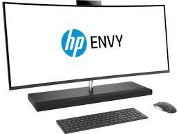 ordinateurs de bureau tout en un gamme d ordinateurs de bureau tout en un à écran incurvé hp envy 34