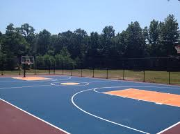 Tennis Court Repair & Painting $500 Off Best Quote NJ PA NY MD Triyae Asphalt Basketball Court In Backyard Various Design 6 Reasons To Install A Synlawn Home Decor Amazing Recreational Lighting Full 4 Poles Fixtures A Custom Half For The True Lakers Snapsports Outdoor Courts Game Millz House Cost Australia Home Decoration Residential Gallery News Good Carolbaldwin Multisport System Photo Diy Stencil Hoops Blog Clipgoo Modern