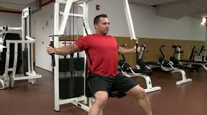 Pec Deck Exercise Alternative by Alternate Uni Lateral Machine Pec Fly Youtube