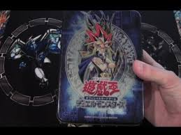 chaos emperor deck traditional yugioh black luster soldier tin opening ultimate chaos emperor
