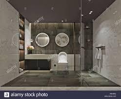 3d render luxus badezimmer stockfotografie alamy