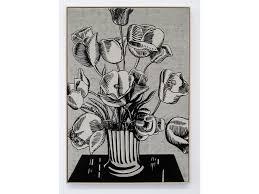 Roy Lichtenstein Black Flowers 1961