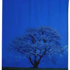 Cherry Blossom Curtain Blue by Shop Cherry Blossom Shower Curtain On Wanelo