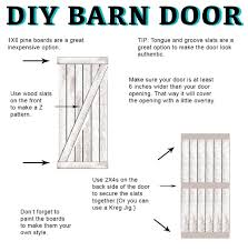 DIY Barn Door Instructions And Hardware | All Things Thrifty Pallet Sliding Barn Doors Shipping Pallets Barn Doors Remodelaholic 35 Diy Rolling Door Hdware Ideas Ana White Cabinet For Tv Projects The Turquoise Home Fabulous Sliding Door Ideas Space Saving And Creative When The Wifes Away Hulk Will Play Do Or Tiny House Designs And Tutorials From Thrifty Decor Chick 20 Tutorials