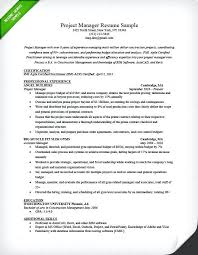 Resume Examples For Executives Sample A Project Manager Profile Executive Assistant