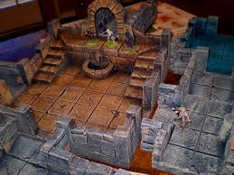 3d Printed Dungeon Tiles by Old Scratch U0027s Heroquest Forum Cheap 3d Foam Dungeons Pics