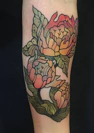 Mathieu Hould Flower Tattoo