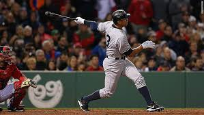 Alex Rodriguez hitting his 660th career home run in Boston on May 1