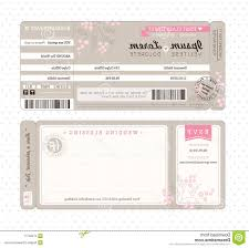 Best HD Boarding Pass Wedding Invitation Template Ticket Vector Photos