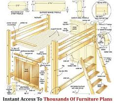 furniture plans woodworking designs