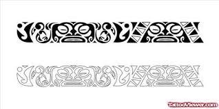 Latest Maori Armband Tattoo Design