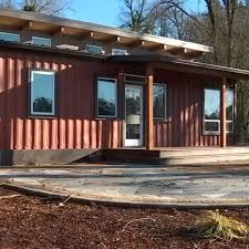 100 Houses Built With Shipping Containers Oregon City Business Transforms Old Shipping Containers Into State