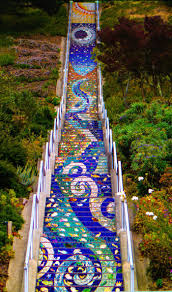 16th Ave Tiled Steps Project by 15 Spectacular San Francisco Stairways