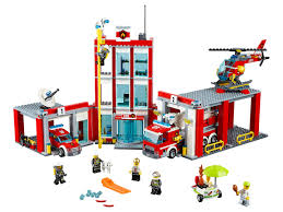 100 Lego Fire Truck Games City Station 60110 Fruugo