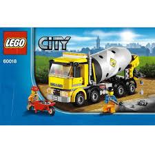 100 Lego Cement Truck LEGO City 60018 Mixer DECOTOYS