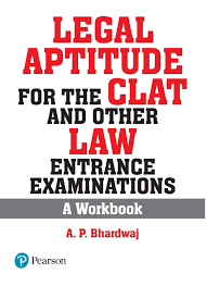 Pearson Exam Copy Book Bag by Legal Aptitude For The Clat And Other Law Entrance Examinations