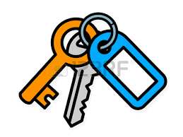 Copy Of Door Key Clipart