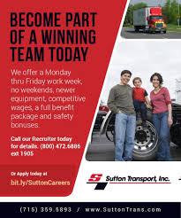 Working At Sutton Transport | Glassdoor Is Truck Driver Pay The Answer To All Issues Ask The Trucker Schneider Salaries Glassdoor Infographic 10 Fun Facts About Trucking Industry Gp Transco Truckers Review Jobs Home Time Equipment Magnum Ltd What Is Hot Shot Are Requirements Salary Fr8star I Want Be A Freight Broker Will My Salary Globe Advantages Of Becoming A Data Reveals Huge Truck Driver Hiring Gap Fleet Owner Drive Hornady News Press Releases