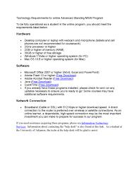 Service Desk Software Requirements by Online Advanced Standing Program University Of Arkansas