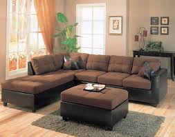 Chocolate Corduroy Sectional Sofa by Santa Clara Furniture Store San Jose Furniture Store Sunnyvale
