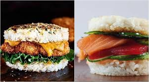 japanese fusion cuisine sushi burger this japanese fusion food trend has foodies going