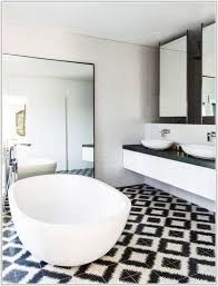 black and white tile bathroom ideas tiles home decorating