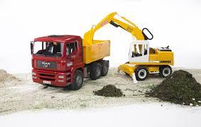 Bruder - Construction Truck And Liebherr Excavator (02751) - The ...