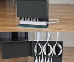 Diy Under Desk Cpu Holder by 15 Diy Cord And Cable Organizers For A Clean And Uncluttered Home