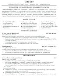 Jr Sql Server Dba Resume Sample Samples Junior Oracle Database Administration Example Administrator