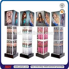 TSD W121 Custom Floor Hair Product Display Standshair Salon Shelfin