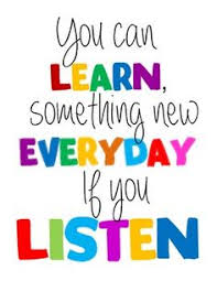 Mini Posters Can Learn Somethings New Every Day Inspirational Quotes For Children If You Listening Hard