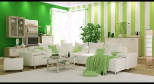 Fresh Green Bedroom Design With White Comfortable Bedding And Natural Lime