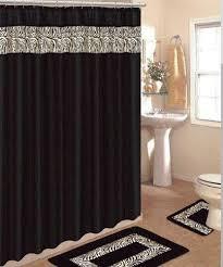 Zebra Curtain by Zebra Shower Curtain The Shoppers Guide
