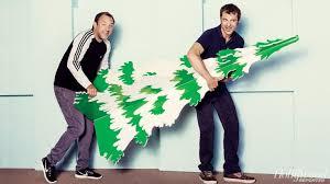 South Park Creators Trey Parker Left And Matt Stone