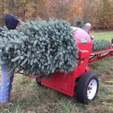Christmas Tree Baler by Tannenbaum Farms