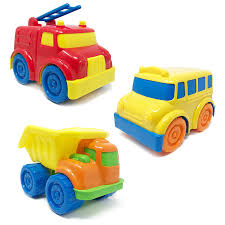 100 Boley Fire Trucks Chunky Vehicles Set 3 Pack Corporation