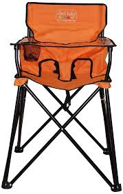 100 Travel High Chair Ciao CIAO BABY HIGH Orange Folding Portable Toddler Chair